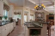 """The kitchen, with """"every amenity for formal entertaining."""""""