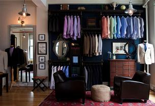 Alton Lane's New York showroom.