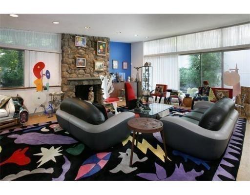 The living room at 26 Reservoir St.