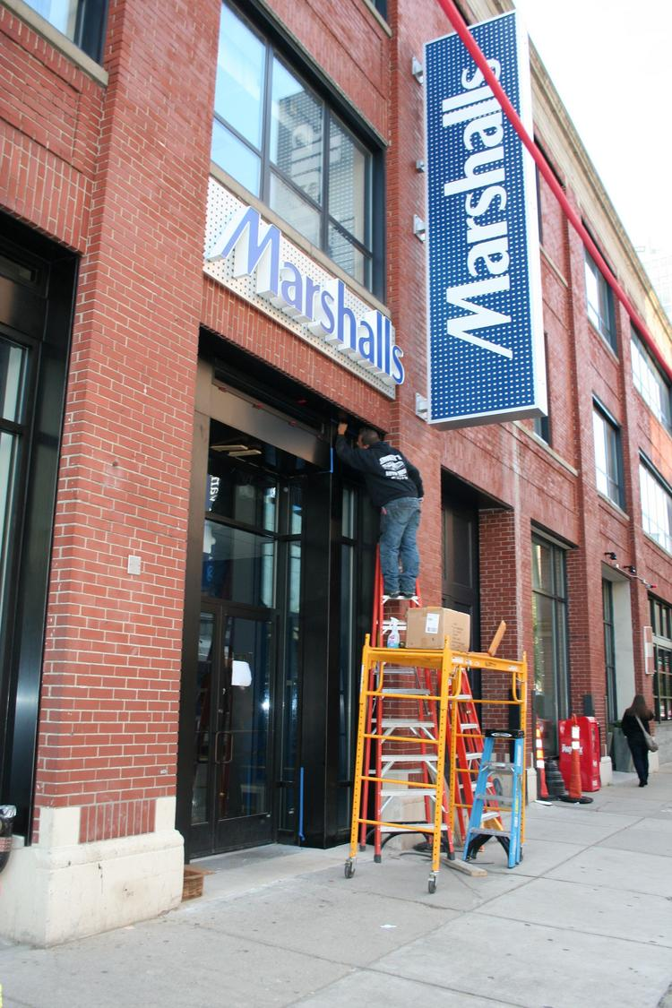 Marshalls is set to open on Thursday, Oct. 18 at 7 a.m.