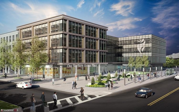 Kavanagh Advisory Group is planning a four-story facility at Boston's Marine Industrial Park. The space could be used for R&D, lab and manufacturing.