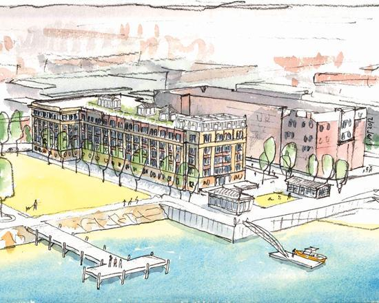 Work could get underway soon on DeNormandie Wharf in East Boston as a result of union wage and benefit concessions.