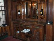 A serving station is one of 219 items to be auctioned off at the Locke-Ober Café next month.