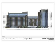 An artist rendering of Lovejoy Wharf on Boston's waterfront.