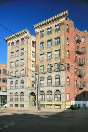 One of two buildings in Harvard Square that sold for $16 million is 115 Mt. Auburn St.