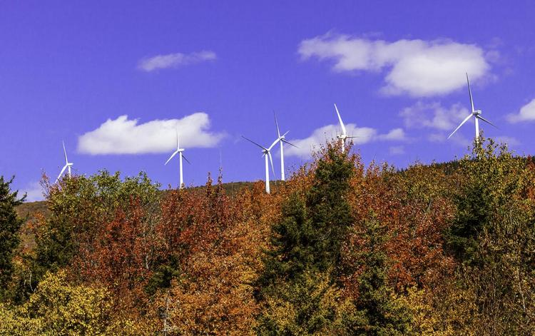 The $90 million Hoosac Wind Power project in Florida, Mass.