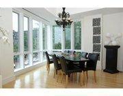 Milan Lucic's dining room at 50 Fleet St.