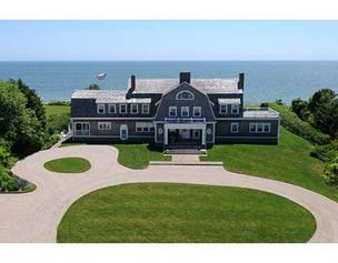 A 12-room waterfront mansion on 2.6-acres in Osterville has sold for $7.5 million, the most expensive single-family dwelling to sell in Massachusetts in December.