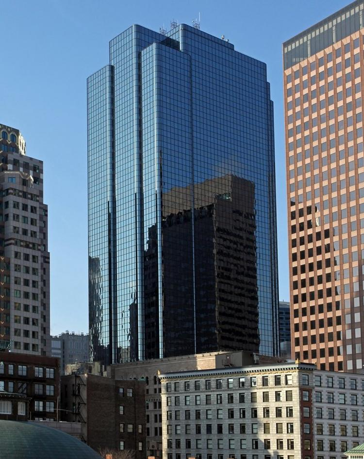 Exchange Place at 53 State Street in Boston is the new headquarters for two Waltham companies.