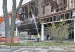 Shuttered Macy's being razed at Chestnut Hill