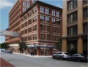 A three building development of apartments and retail in Fort Point approved by the Boston Redevelopment Authority.