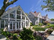 No. 5  Address: 52 Ships Eagle Lane  City/town: Osterville  List price: $17,000,000  Details: Built in 1880, this Sotheby's International listing has 10 bedrooms and 9.5 baths. The property features a private deep water dock and more than two acres of sandy beachfront on Nantucket Sound.