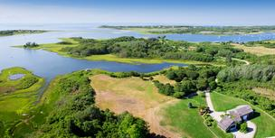 This 75-acre, waterfront property at 260 Polpis Road on Nantucket is being listed for $47.5 million by Great Point Properties, an exclusive affiliate of Christie's International Real Estate.