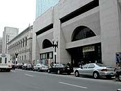 The Boston Public Library's main branch is considering adding retail.