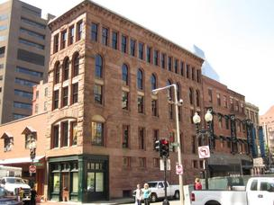 The $5.6 million restoration of the historic Hayden building in Boston's Downtown Crossing.