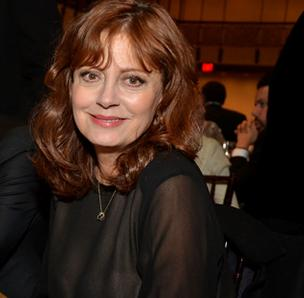 Susan Sarandon photographed at the Film Society of Lincoln Center tribute to Catherine Deneuve in New York, U.S., on Monday, April 2, 2012