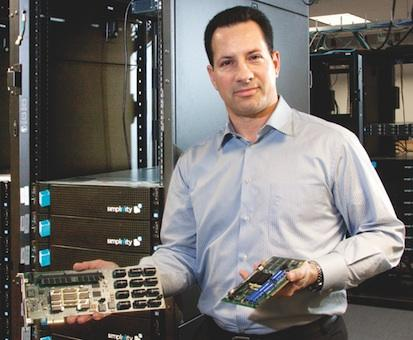 SimpliVity CEO Doron Kempel says the Westborough-based company has found a surge in demand for its IT appliance.