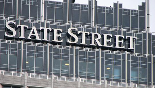No. 10. State Street Corp. State Street has 12,347 employees based in Mass. this year, down from 12,529 in 2011.