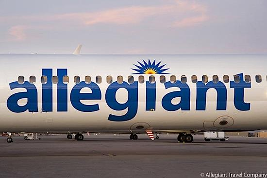 Las Vegas-based Allegiant Air will offer service from Asheville, N.C. to Fort Lauderdale beginning in November.