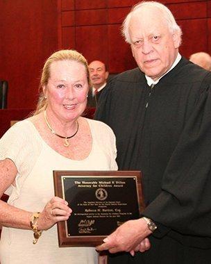 Rebecca Baritot is aPanel member for Attorneys for Children Program NYS Supreme Court, Appellate Division, 4th Dept