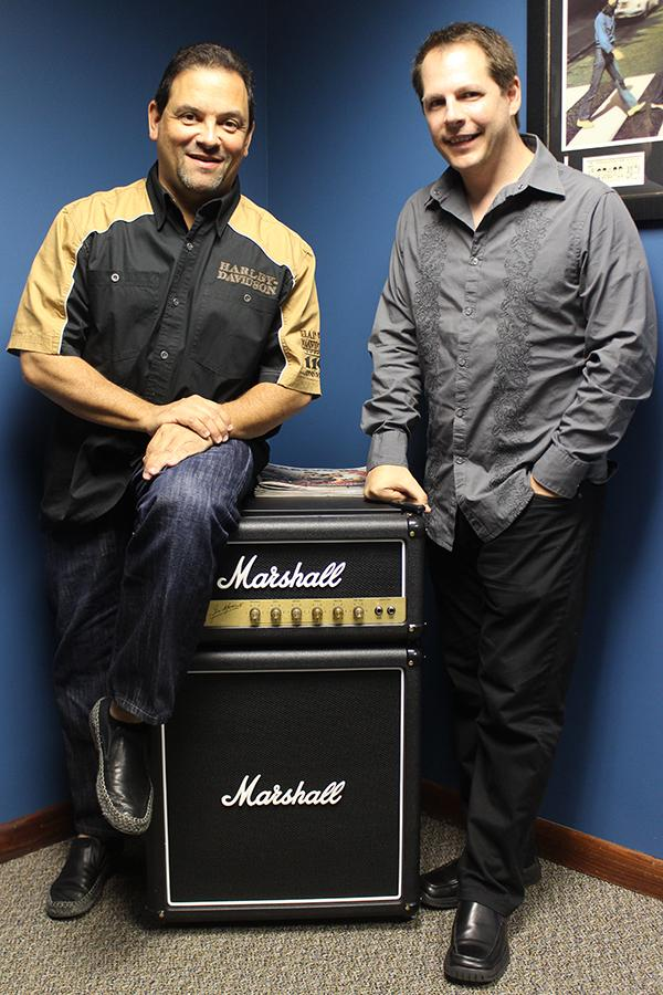Attorney Steve Kantor, left and and business partner Anthony Casuccio right, of Buzz Records.