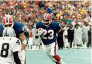 Kenneth Davis was a stalwart running back behind Thurman Thomas for the '90s-era Bills.