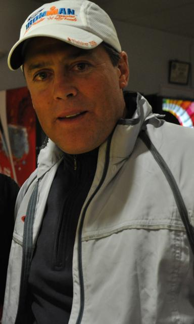 Former Buffalo Sabres star Pat LaFontaine is in the midst of a 550-mile bicycle trip from Toronto to New York.