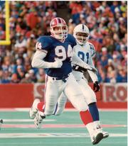 Mark Pike was a special teams specialist during the Bills' Super Bowl era.