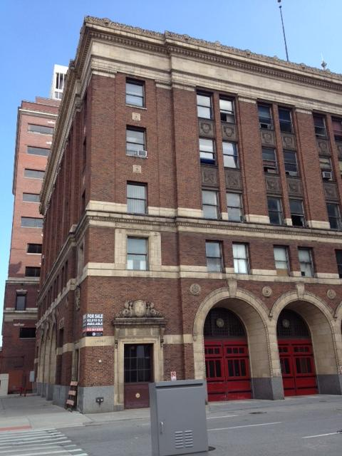 This Detroit Fire Department building is one of many vacant sites in bankrupt downtown Detroit.