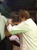 Flu shots for a good cause