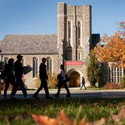 1. Cornell University, Ithaca, N.Y. 125 air miles from downtown Buffalo, 18.0% acceptance rate, 1,300-1,490 SAT range.