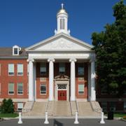 22. Siena College, Loudonville, N.Y. 260 air miles from downtown Buffalo, 48.5% acceptance rate, 1,040-1,220 SAT range.