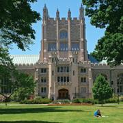 2. Vassar College, Poughkeepsie, N.Y. 267 air miles from downtown Buffalo, 22.5% acceptance rate, 1,330-1,470 SAT range.