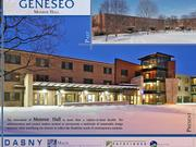 SUNY Geneseo Monroe Hall. Architect: Mach Architecture.