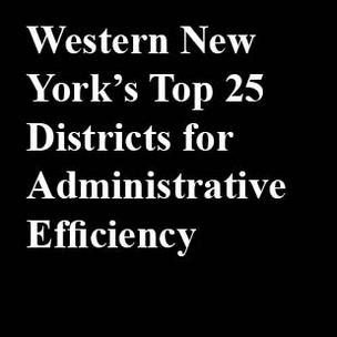 These are the 25 leaders for administrative efficiency