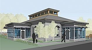 A rendering of East Hill Foundation's new location in North Tonawanda.