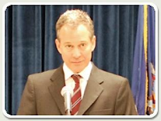New York state Attorney General Eric Schneiderman