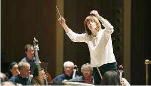 Conductor JoAnn Falletta has given a lift to the BPO.