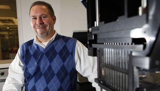 Hauptman-Woodward senior research scientist Michael Malkowski.