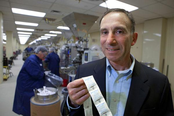 Multisorb Technologies Inc. President James Renda said the $100 million West Seneca company's growth is a result of its diversified product line.