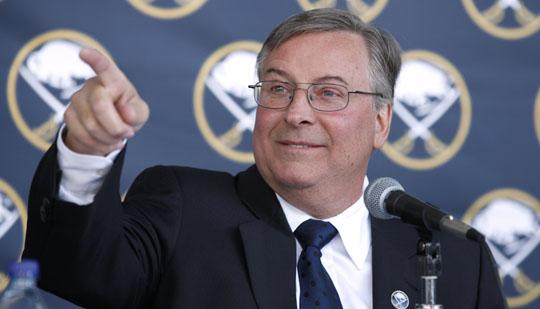 Terry Pegula wants to point the Sabres on the road to the Stanley Cup.