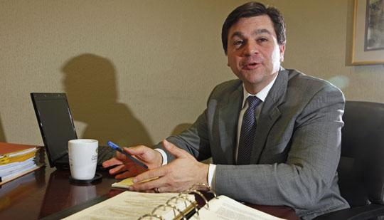 Business 'divorces' are a specialty of attorney Joseph Manna.