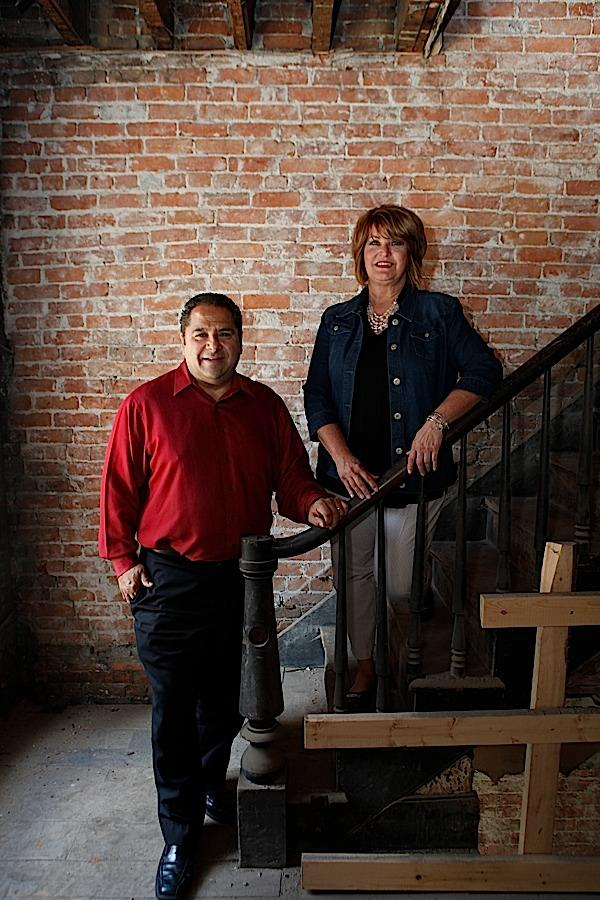 Steve Carmina of Carmina Woods & Morris Architecture & Engineering P.C. and his wife, Brenda, a coordinator in the Buffalo schools, are renovating the upper floors of a vacant downtown building into living space.