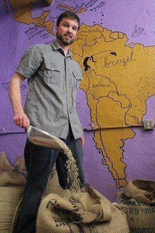 Chad Maslanka, Spot Coffee's head roaster