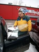 Damage appraiser knows his autos ... and his deer
