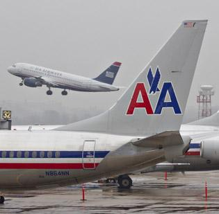 """American Airlines requested Tuesday that the FAA issue a nationwide """"ground stop"""" on all of its flights due to problems with the airline's computer reservation system. The problem was cleared up by late Tuesday afternoon, but the backup continued into Wednesday."""