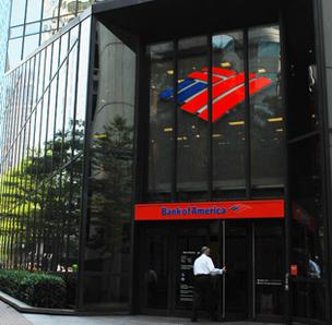 Bank of America Corp. is the top ranked company by revenue in the Carolinas.