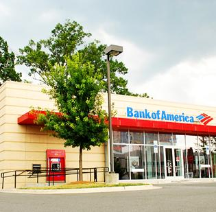 Bank of America branches received high marks for service from consulting firm Celent.
