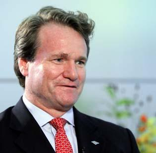 Bank of America CEO Brian Moynihan has directed his bankers to increase business lending.