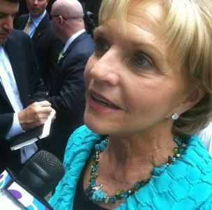 N.C. Gov. Bev Perdue is in Charlotte this week for the Democratic National Convention.